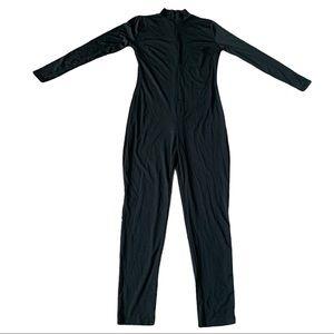 Sexy Black turtleneck jumpsuit